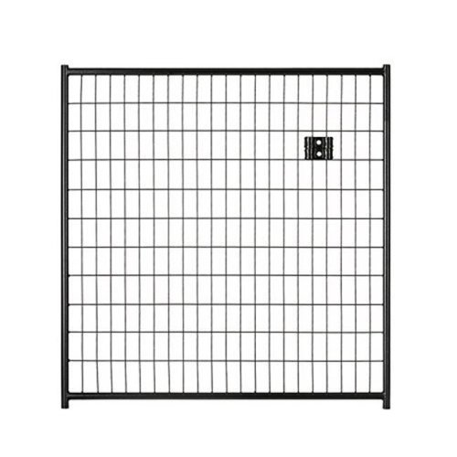Lucky Dog CL 28460 6 x 4 ft. Black Welded Wire Panel Gate