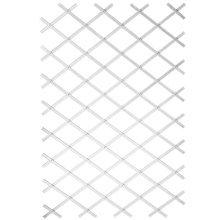 Nature Garden Trellis 100x200 cm PVC White 6040703