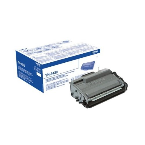 Brother Tn-3430 Cartridge 3000pages Black Laser Toner & Cartridge