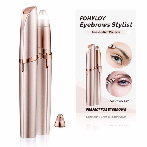 Painless Eyebrow Hair Remover,Sensitive Precision Hair Removal Beauty