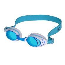 Lovely Children Waterproof Anti-fog Goggles Little Stars Swimming Goggles,Blue