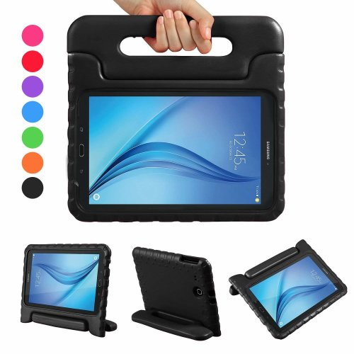 huge discount cd388 9425c NEWSTYLE Samsung Galaxy Tab E 9.6 Shockproof Case Light Weight Kids Case  Super Protection Cover Handle Stand Case For Kids Children For Samsung...