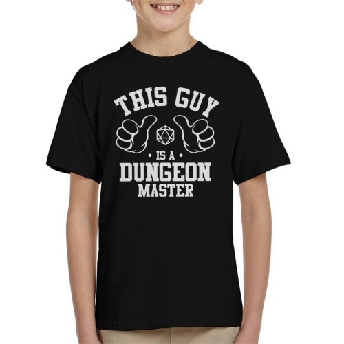 This Guy Is A Dungeon Master Kid's T-Shirt