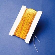 Pbx2460046 - Playbox - Elastic String (gold ) - 50 M, Ï 1 Mm