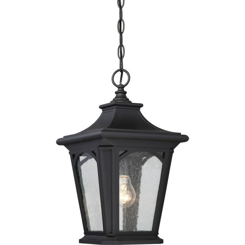 1 Light Small Chain Lantern In Mystic Black