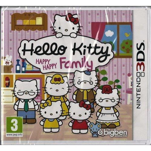Hello Kitty Happy Happy Family Nintendo 3DS Brand NEW