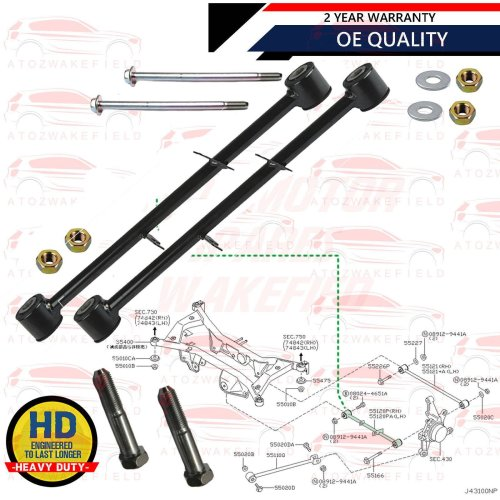 Brand New Front Lower Left /& Right Control Arm Ball Joint Kit For Saab 900 9-3