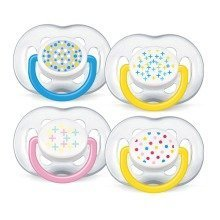 Philips Avent Scf180/24 Contemporary Freeflow Soothers (6-18 Months)