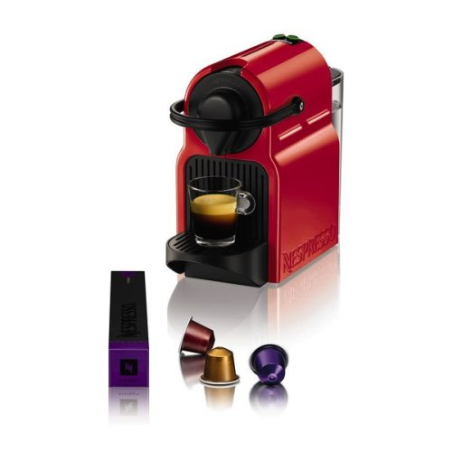 Capsule Coffee Machine Krups XN1005 Inissia Nespresso 19 bar 0,7 L 1260W Red