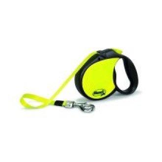 Flexi Neon Tape Dog Lead