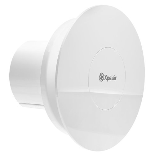 Xpelair C4TR 12W Simply Silent Contour Bathroom Extractor Fan with Timer