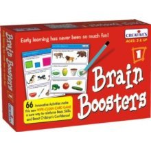 Creative Pre-school Brain Boosters I Game - Preschool Cre0987 -  creative preschool brain boosters cre0987