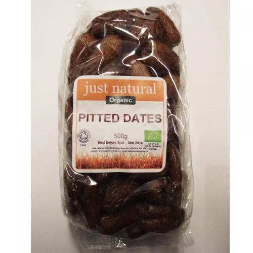 Just Natural Organic Organic Pitted Dates 250g