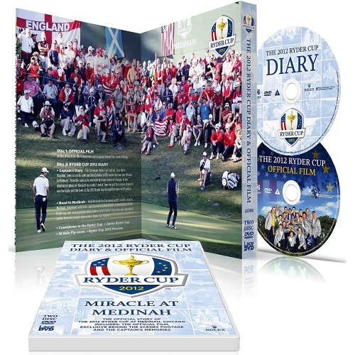 The 2012 Ryder Cup Diary & Official Film DVD