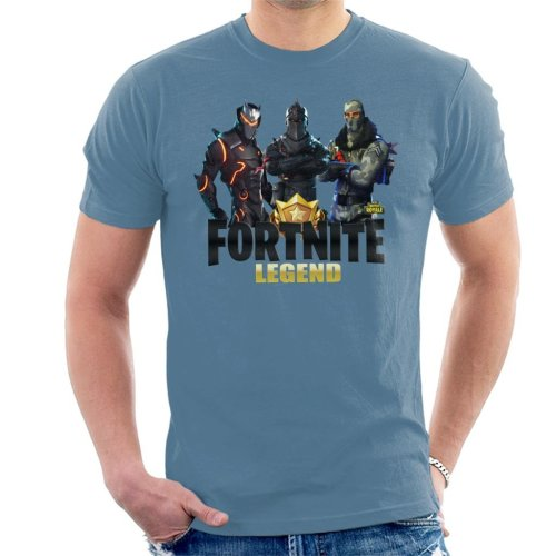 Fortnite Legend Black Knight Trio Battle Royale Men's T-Shirt