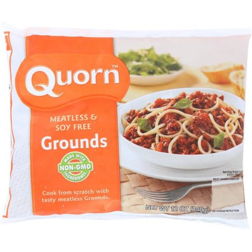 Quorn KHFM00765164 Meatless & Soy Free Grounds - 12 oz