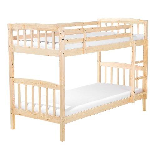 Bunk Bed Light Pine Wood REVIN