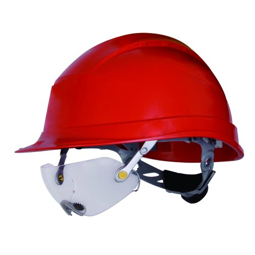 Delta Plus Venitex Fuego Polycarbonate Safety Glasses Specs For Hard Hat Helmet