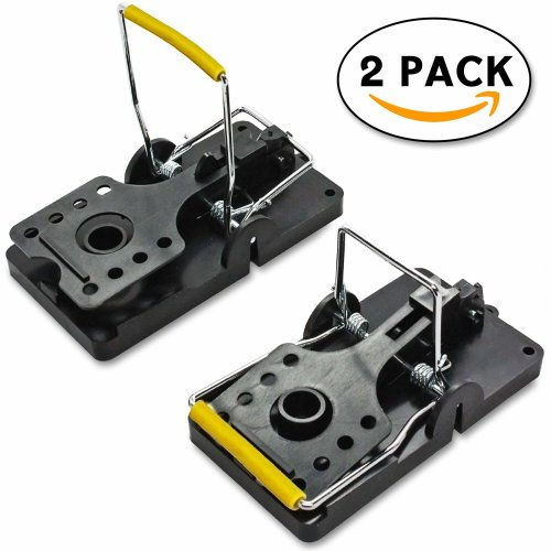 Volila Rat Trap Extra Strong and Large Reusable Rodent Mouse Pest Trap (2 pack)