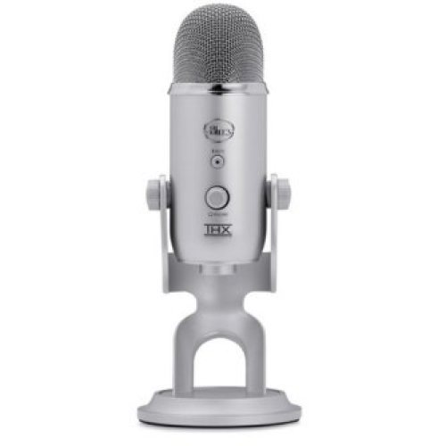 Blue Microphones Yeti Notebook microphone Wired Silver
