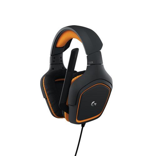 Logitech G231 Prodigy Binaural Head-band Black,Orange headset