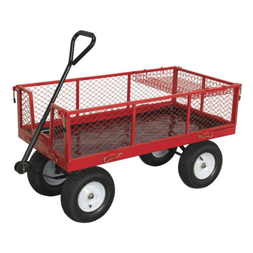Sealey CST806 450kg Capacity Platform Truck with Sides & Pneumatic Tyres