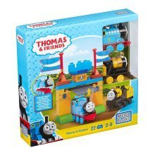 Mega Bloks Thomas & Friends Thomas & Stephen Playset (Castle Gates)