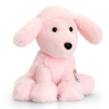 Keel Pippins Poodle Dog Soft Toy 14cm