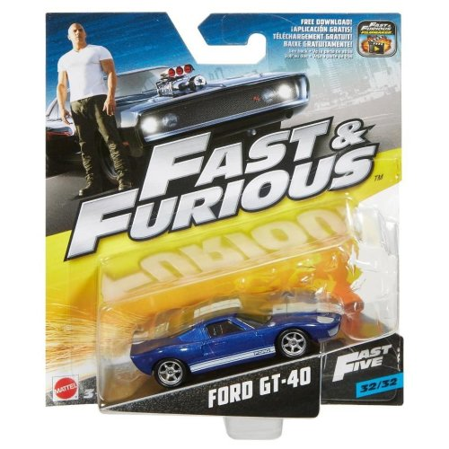 Fast and Furious - Ford GT-40 1:55 Scale Die Cast Car (32/32)