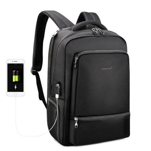 63a6050fb322 Tigernu T-B3585 Laptop Backpack Black