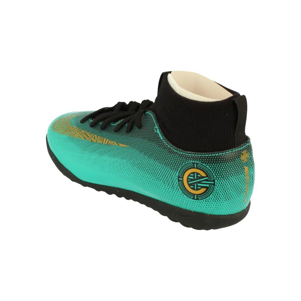 18fd8c14916 ... Nike Junior Superfly 6 Club Cr7 Tf Football Boots Aj3088 Soccer Cleats  - 1 ...