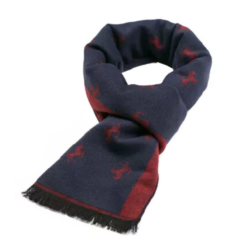 Wool Cashmere Winter Warm Scarf Neck Wrap Scarves Mens Scarves,A