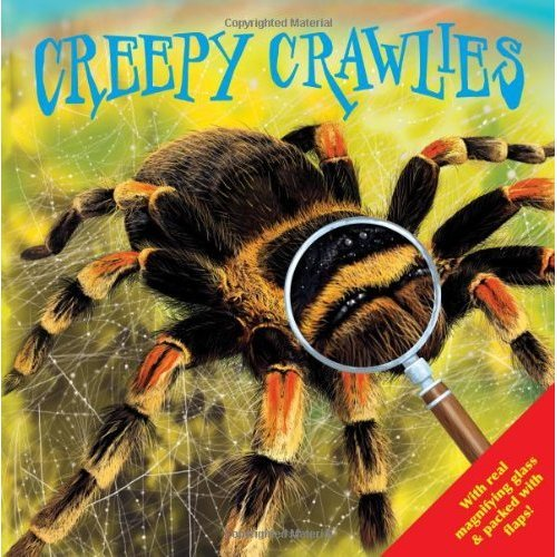 Creepy Crawlies, discover bugs through the magnifying glass. Kids Gift (Igloo Books Ltd) (Look Closely 2)