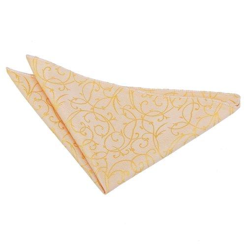 Gold Swirl  Pocket Square