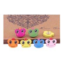 20Pcs Frog Pattern Pushpins Creative Cute Drawing Pin Colorful Pushpins