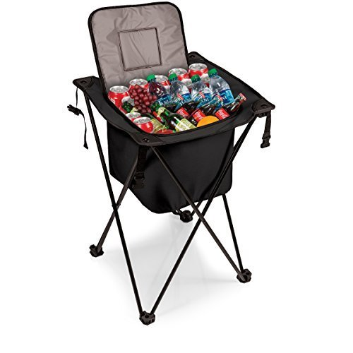 ONIVA a Picnic Time Brand Sidekick Portable Cooler with Legs Black