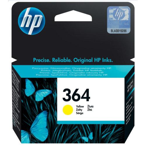 HP CB320EE (364) Yellow Ink Cartridge