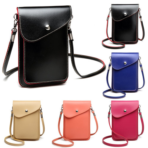1a86eed1cee9 Miss Lulu Women PU Leather Mobile Phone Bag Case Pouch Cross Body Purse  Shoulder Small on OnBuy