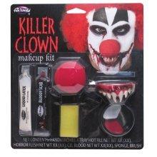 Killer Clown Make Up Kit   Halloween