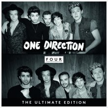 FOUR - One Direction Ultimate Edition Album (Audio CD) New Sealed