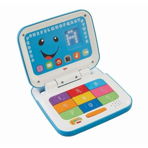 Fisherprice Laugh Learn Smart Stages Laptop Blue White