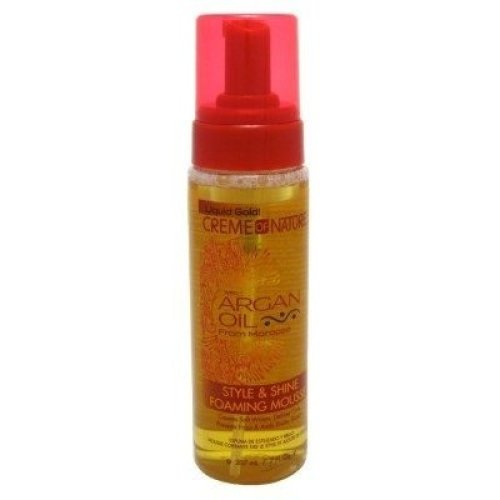 Creme Of Nature Argan Oil Style & Shine Foam Mousse 7oz