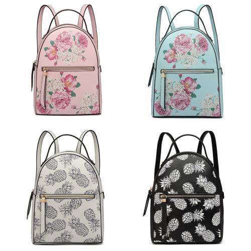 be5a49c5d Miss Lulu Stylish Ladies Rucksack Printed Backpack on OnBuy