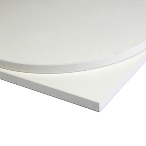 Taybon Laminate Table Top - White Rectangular - 1000x500mm