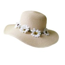 Hat Child Children Folding Beach Hat UV Girls Summer Sunscreen Large Brimmed
