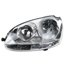 Vw Golf Mk5 2004-2009 Chrome Headlamp Headlight N/s Left