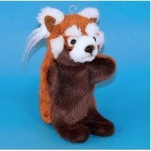 Dowman Red Panda Hand Puppet Soft Toy 28cm