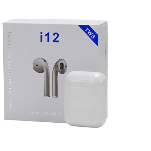 Wireless Earbuds With Wireless Charging Case i12 TWS 2019
