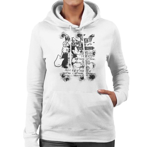 Disney Mickey Mouse Band Make Some Noise Women's Hooded Sweatshirt