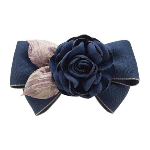 Fashionable Ladies Hair Decorations Elegant Hairpin Hair Clips Ribbons Hair Clasp N